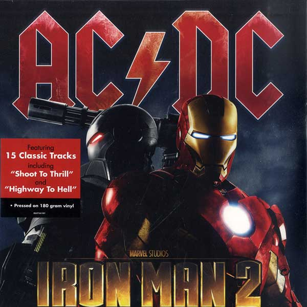 AC/DC IRON MAN 2 180 Gram Double LP Vinyl Soundtrack