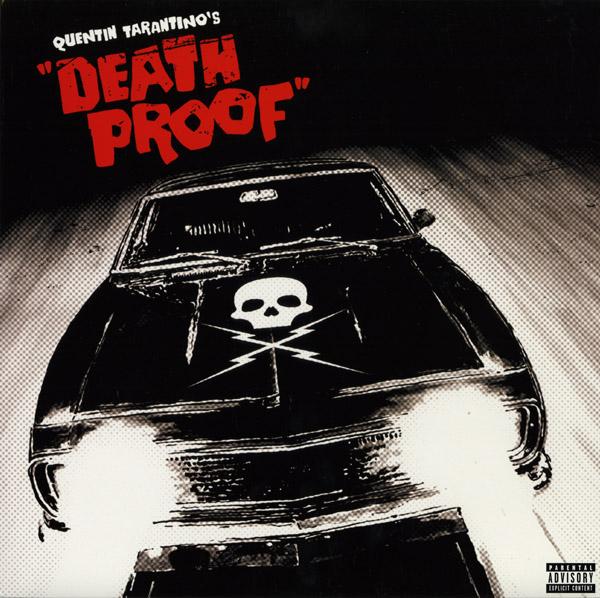 DEATH PROOF Blood Spattered Colored Vinyl Soundtrack