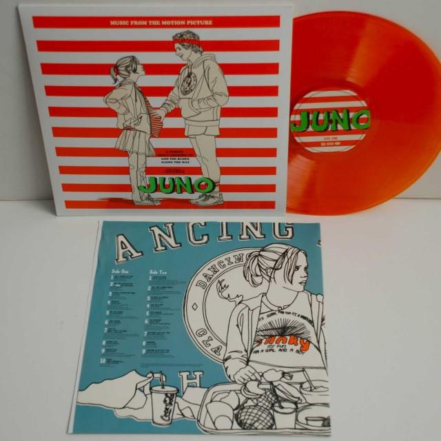 Limited Edition JUNO Orange Wax Vinyl Soundtrack