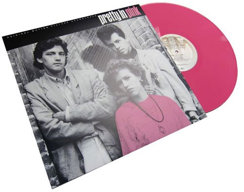 Limited Edition PRETTY IN PINK Pink Vinyl Soundtrack
