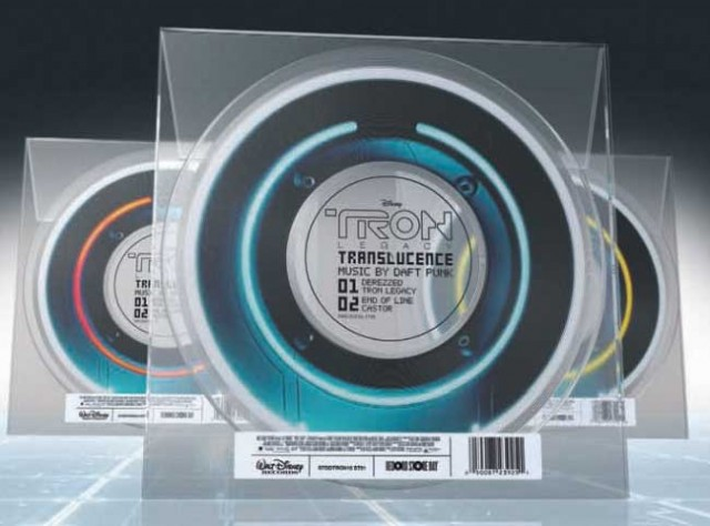 Limited Edition TRON: LEGACY Translucent Vinyl Soundtrack (Record Store Day)