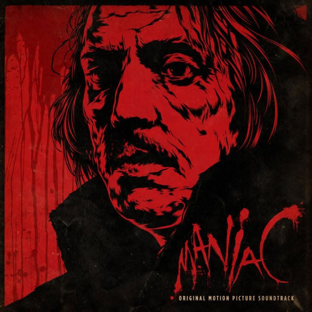 Limited Edition MANIAC 200 Gram Colored Vinyl Soundtrack by Jay Chattaway