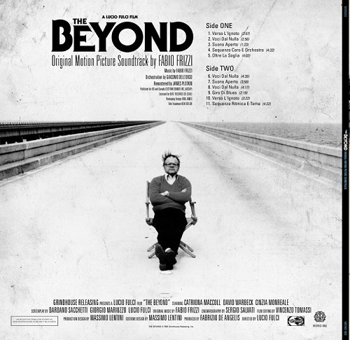 Limited Edition THE BEYOND 180 Gram Vinyl Soundtrack