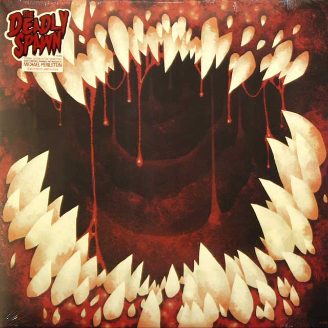 Limited Edition THE DEADLY SPAWN 180 Gram Colored Vinyl Soundtrack