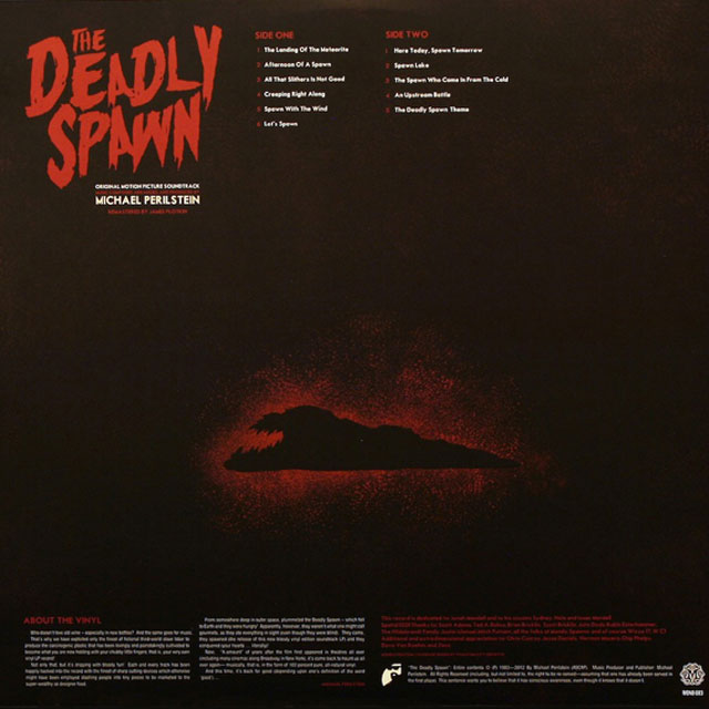 Limited-Edition-THE-DEADLY-SPAWN-180-Gram-Colored-Vinyl-Soundtrack