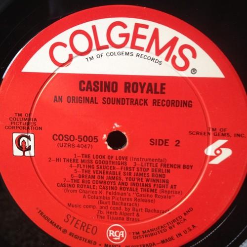 Casino Royale Vinyl Soundtrack LP