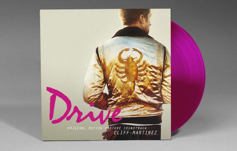 DRIVE-180-Gram-Pink-Vinyl-Soundtrack-Invada
