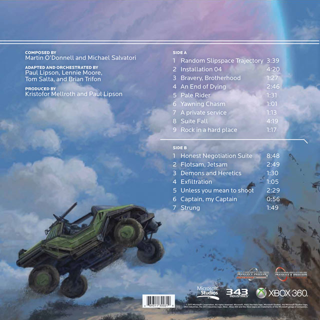 HALO COMBAT EVOLVED ANNIVERSARY Limited Edition Green Vinyl Soundtrack