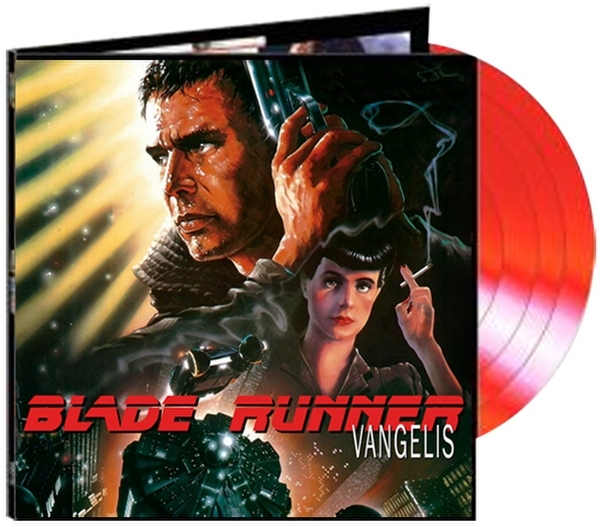 BLADE RUNNER Limited Edition Red Translucent Remastered 180 Gram Vinyl Soundtrack