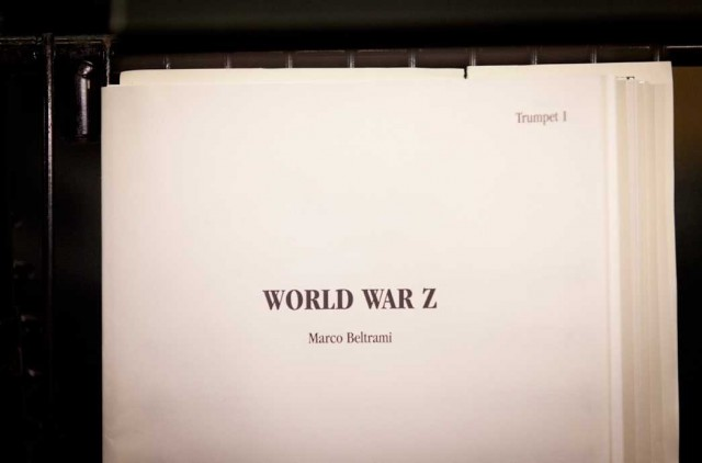 WORLD WAR Z vinyl soundtrack by Marco Beltrami