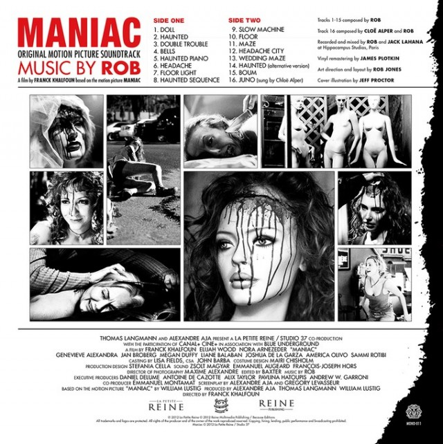 MANIAC Limited Edition White Vinyl Soundtrack