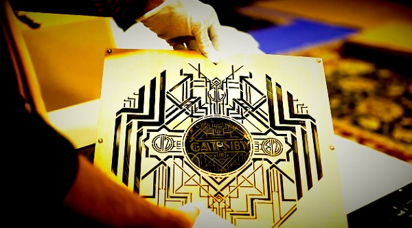 THE-GREAT-GATSBY-Platinum-and-Gold-Metalized-Limited-Edition-Vinyl-Soundtrack with Gloves