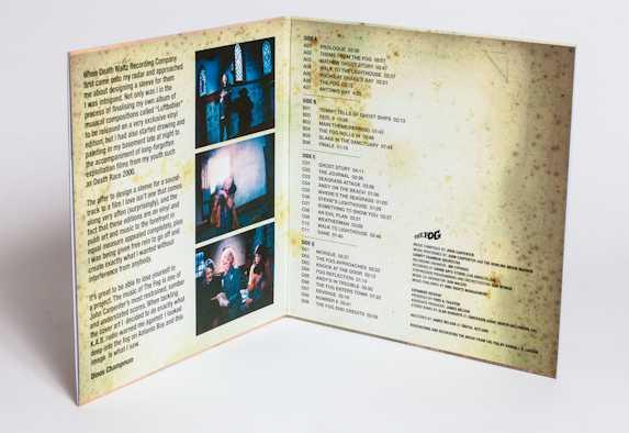 Limited Edition The Fog Black vinyl screening edition