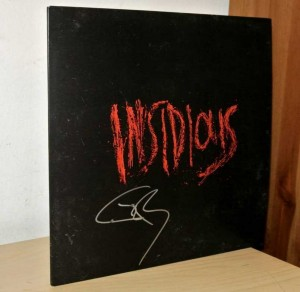 Insidious Original Soundtrack Limited Vinyl LP Signed by Joseph Bishara Composer