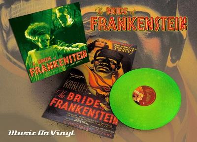 Limited Edition The Bride of Frankenstein 180 Gram Slime Green Vinyl Soundtrack