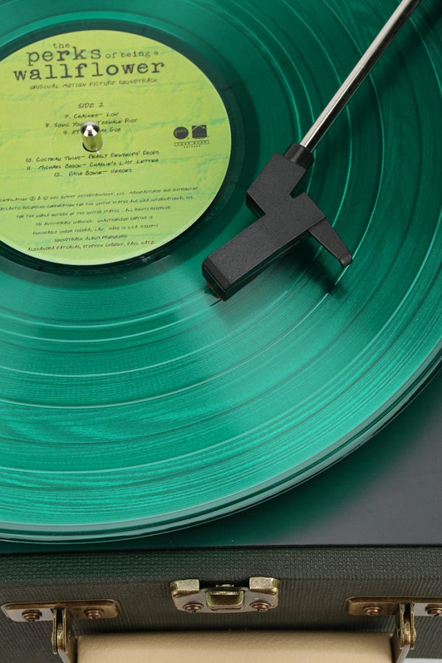 PERKS-OF-BEING-A-WALLFLOWER-Translucent-Green-Vinyl-Soundtrack