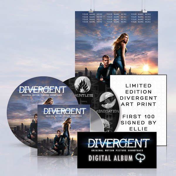 Divergent Vinyl Soundtrack Bundle