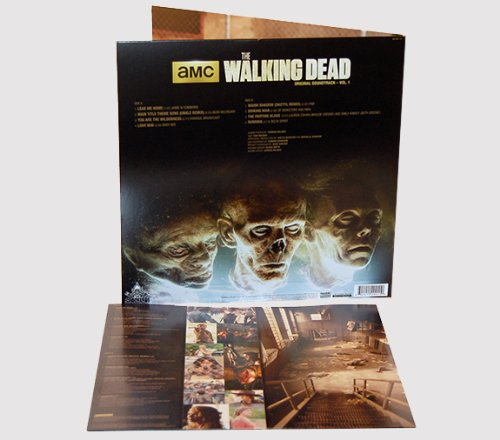 THE WALKING DEAD Vinyl Soundtrack Vol 1 Back Cover