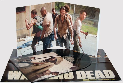 THE WALKING DEAD Vinyl Soundtrack Vol 1 Gatefold