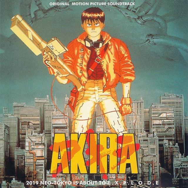 AKIRA vinyl soundtrack