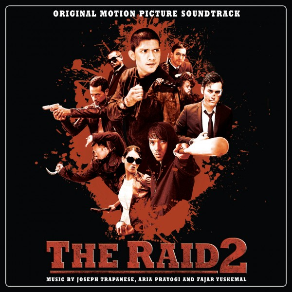 THE RAID 2 BERANDAL Vinyl Soundtrack by Joseph Trapanese