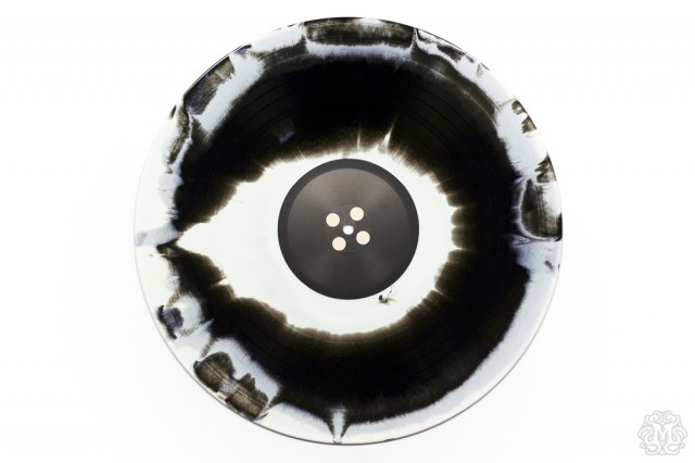 CORALINE randomly-inserted Black & White Swirl Vinyl