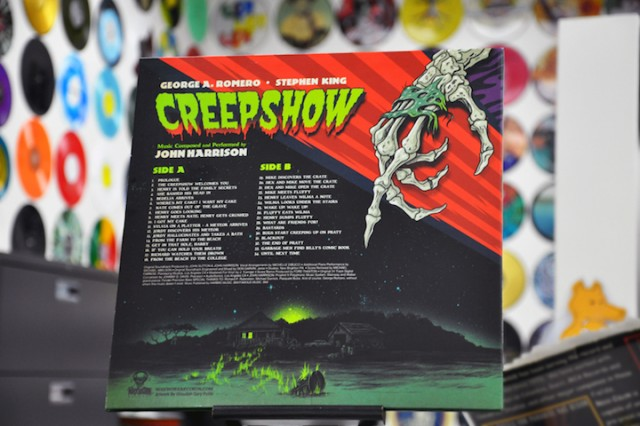 CREEPSHOW 180G Green Vinyl Soundtrack