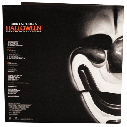 HALLOWEEN Mondo Orang and Black Splatter Vinyl 180 gram Soundtrack 2013