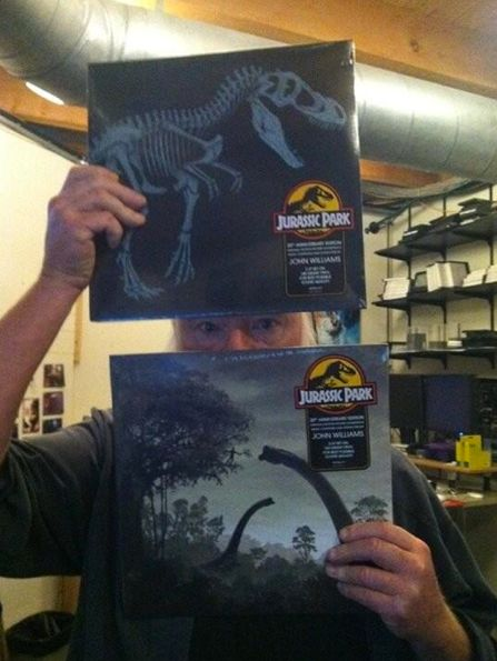 JURRASIC PARK Vinyl Soundtrack by Mondo Variant Covers