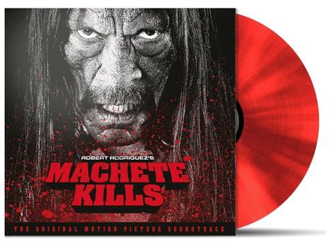 MACHETE KILLS 180g Bloody Red Vinyl Soundtrack