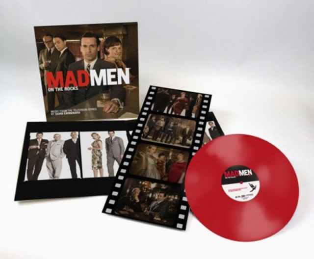 MAD MEN On The Rocks Red Vinyl Soundtrack by Music on Vinyl
