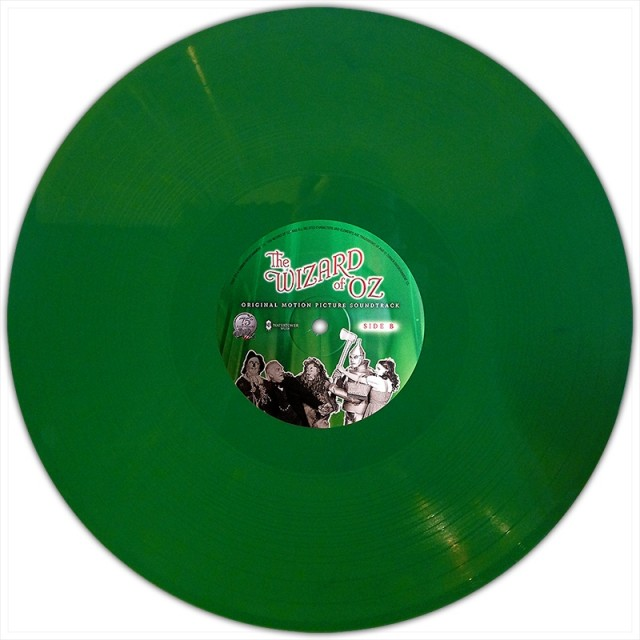 THE WIZARD OF OZ Emerald Green Vinyl Soundtrack Water Tower Music