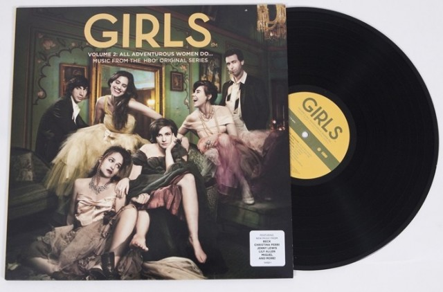 GIRLS Volume 2 Vinyl Soundtrack HBO Volume 2