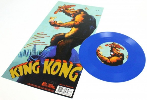 KING KONG Blue Vinyl Soundtrack Record Store Day 2014