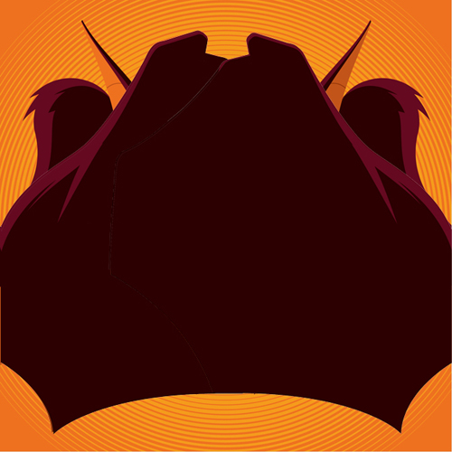 Batman the Animated Series vinyl soundtrack by Danny Elfman Man-Bat sleeve