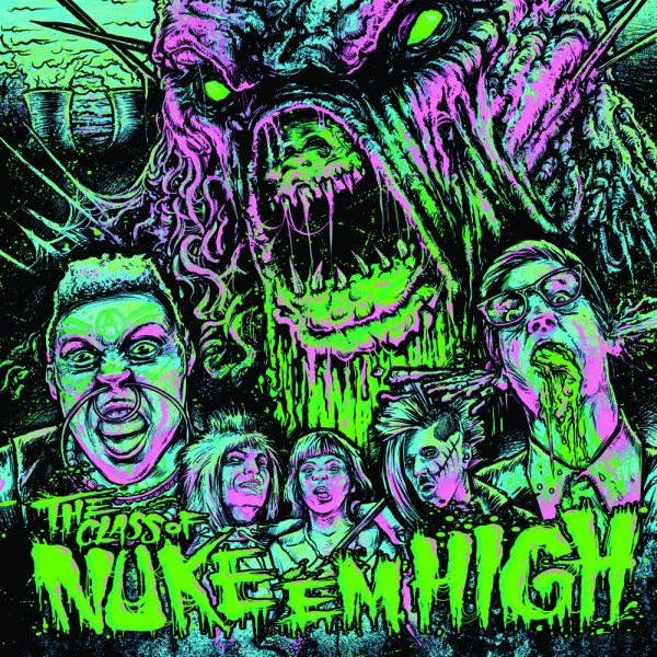 CLASS OF NUKE EM HIGH Vinyl Soundtrack