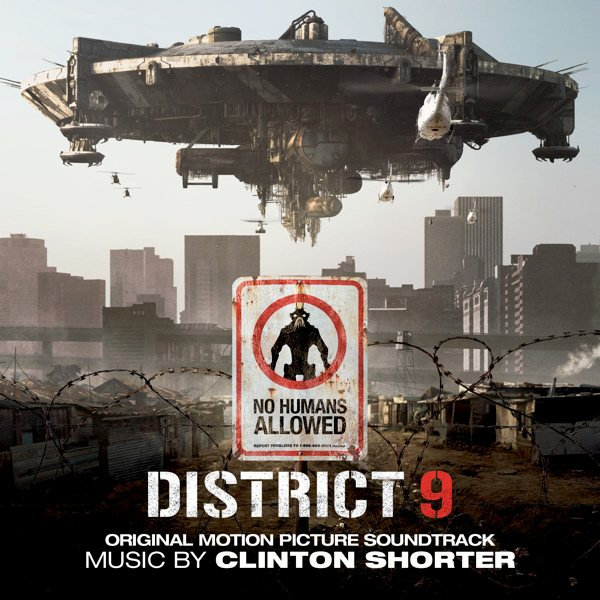 DISTRICT 9 Vinyl Soundtrack by Clinton Shorter