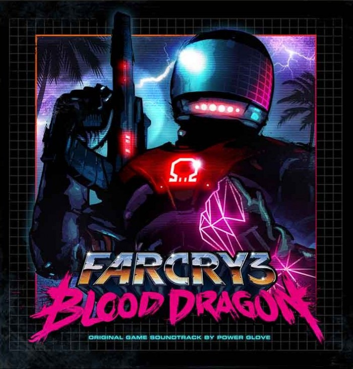 FAR CRY 3 BLOOD DRAGON Vinyl Soundtrack by Power Glove