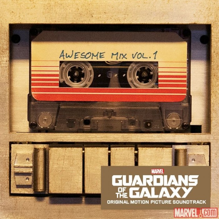 GUARDIANS OF THE GALAXY Vinyl Soundtrack Awesome Mix Vol 1