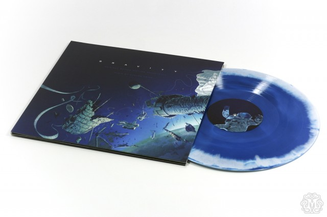 Gravity Colored Vinyl Soundtrack by Mondo