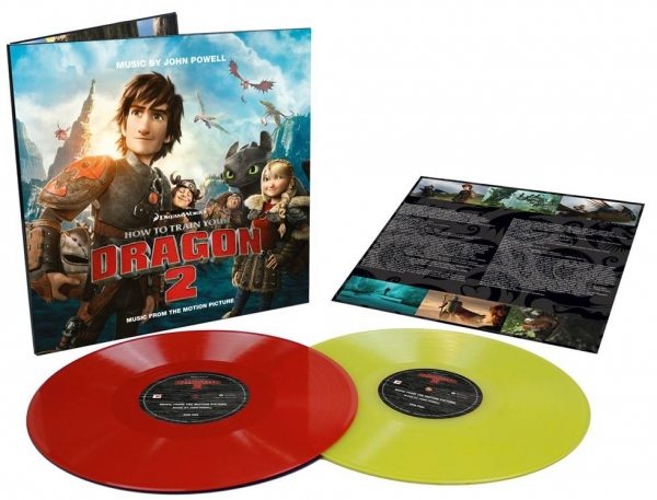HOW TO TRAIN YOUR DRAGON 2 Vinyl Soundtrack