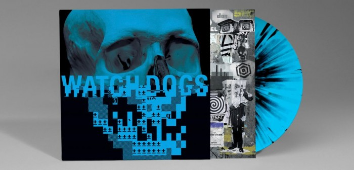 Invada Limited Edition WATCH DOGS Vinyl Game Soundtrack by Brian Reitzell