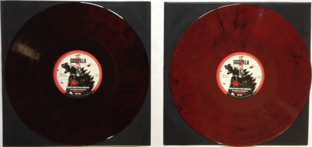 Limited Edition GODZILLA Vinyl Soundtrack by Alexandre Desplat Blood Red Vinyl