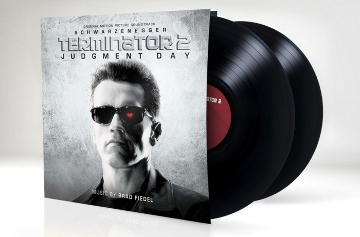TERMINATOR 2 JUDGMENT DAY Vinyl Soundtrack by Brad Fiedel 2014 Silva Screen