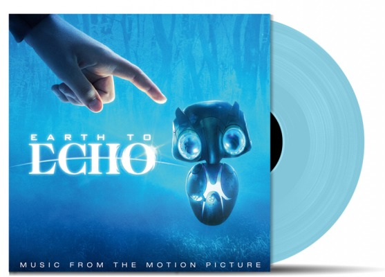 Earth to Echo vinyl soundtrack blue transparent