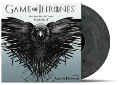 GAME OF THRONES Season 4 Vinyl Soundtrack by Ramin Djawadi