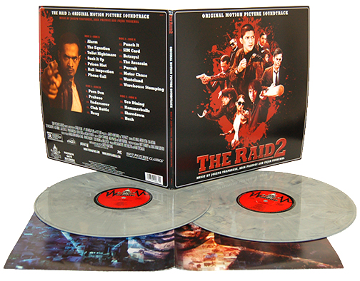 THE RAID 2 Vinyl Cell Block Variant Soundtrack