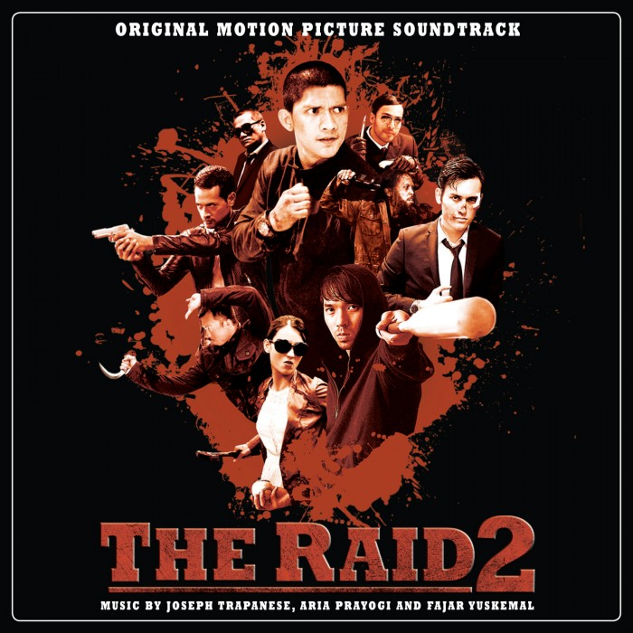 THE RAID 2 Vinyl Soundtrack by Spacelab9