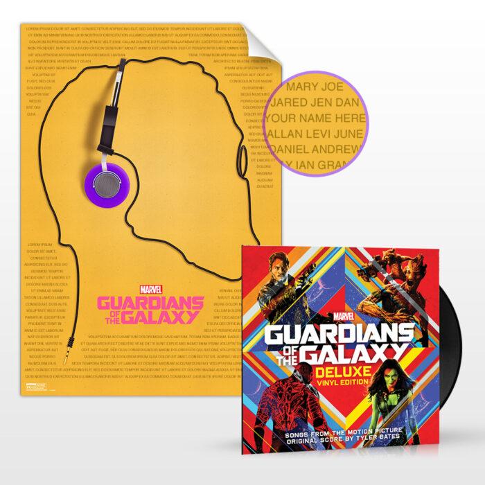 Guardians of the Galaxy Vinyl Fan Bundle