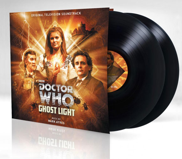 DOCTOR WHO Ghost Light Vinyl Soundtrack by Mark Ayres